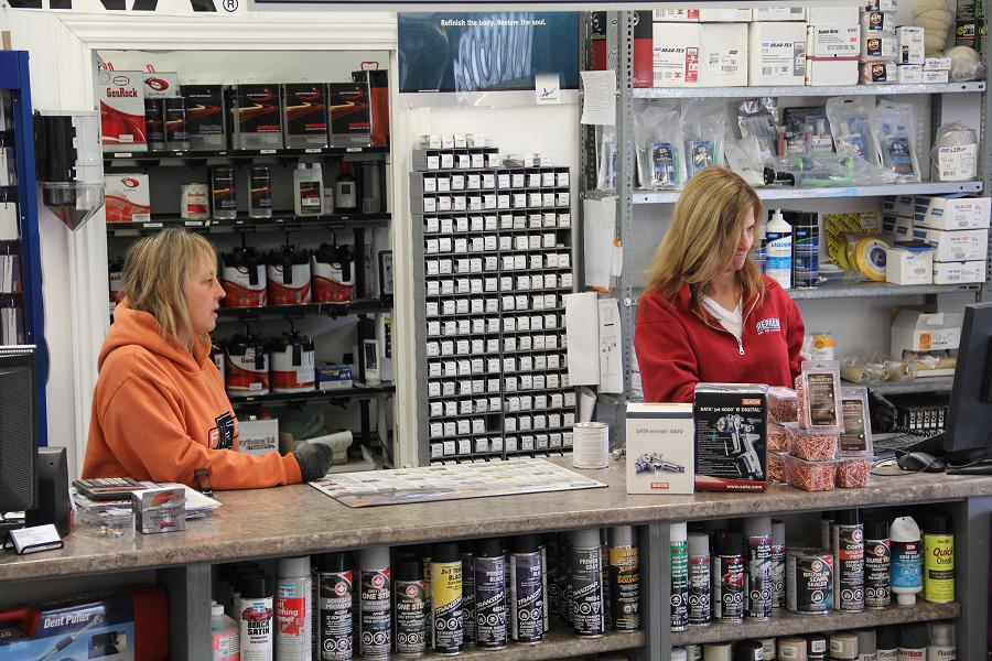 Peterborough Paint & Body Supply interior