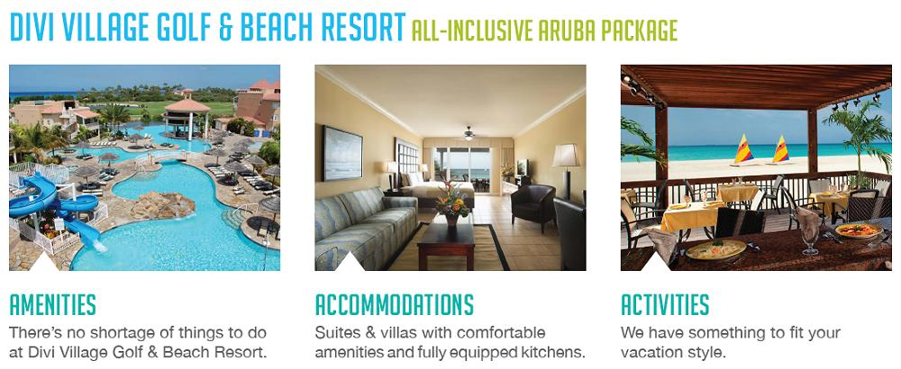 Divi Village Golf & Beach Resort All-Inclusive Aruba Package