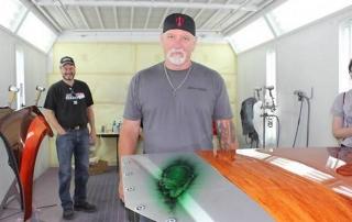House of Kolor's Market Manager Ron Fleenor. (Photo: Collision Repair magazine)
