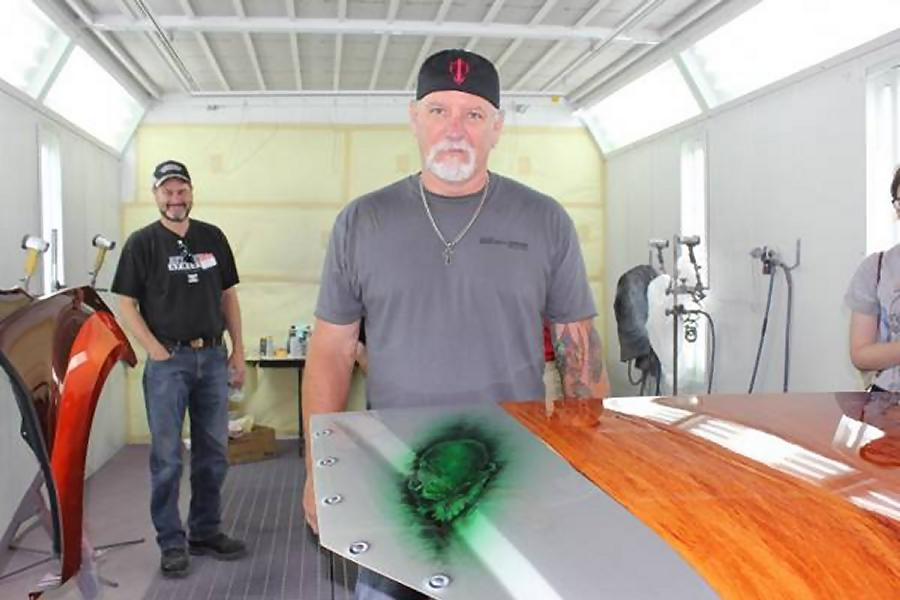 House of Kolor's Market Manager Ron Fleenor. (Photo: Collision Repair magazine)