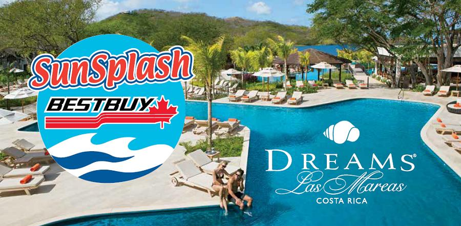 2019 BestBuy SunSplash Destination: Costa Rica