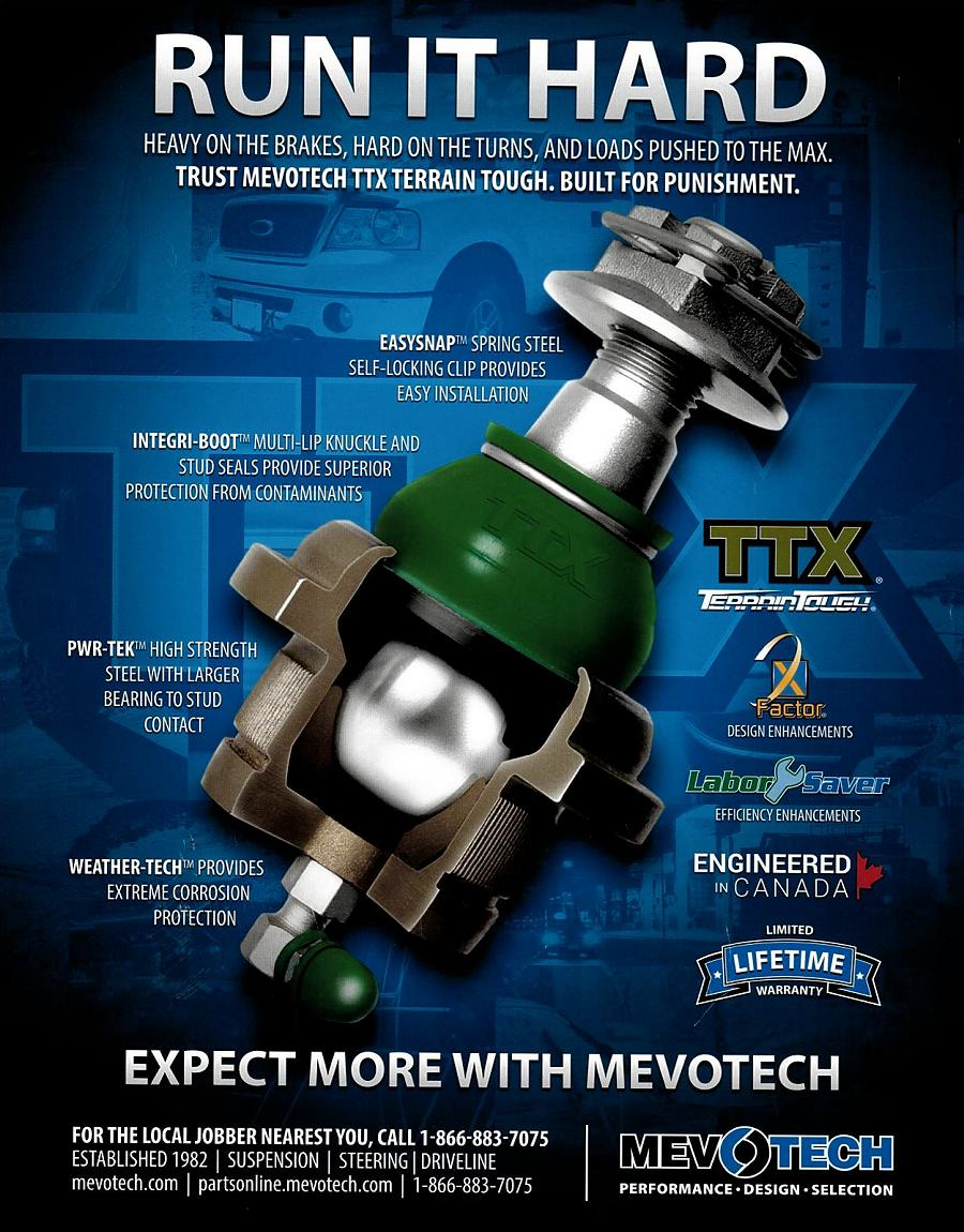 Mevotech TTX Terrain Tough Ball Joint