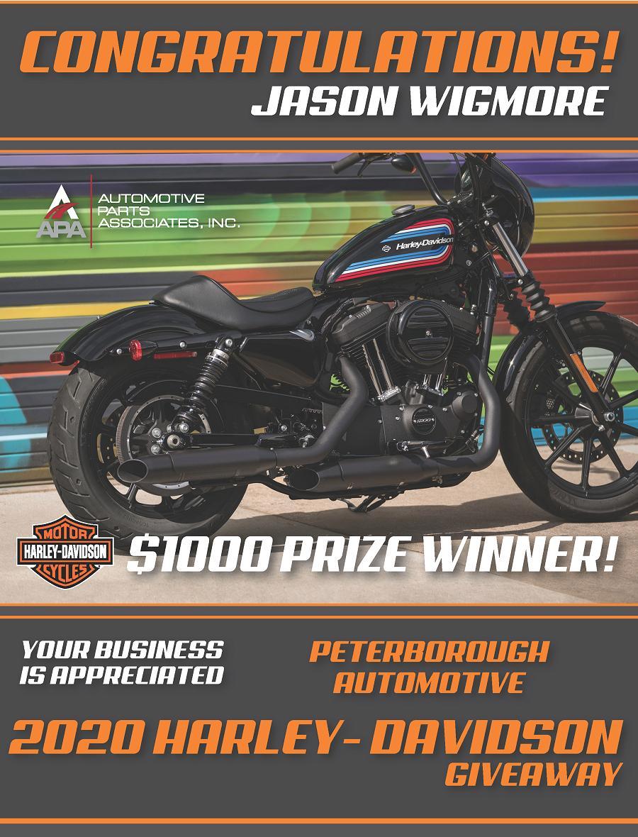 Congratulations to Peterborough Automotive customer Jason Wigmore
